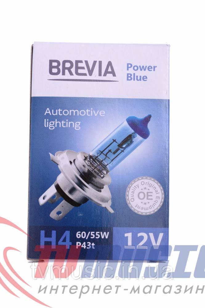 Лампа галогенная Brevia H4 Power Blue (12040PBC)
