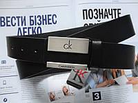 Мужской брючный ремень Calvin Klein черный