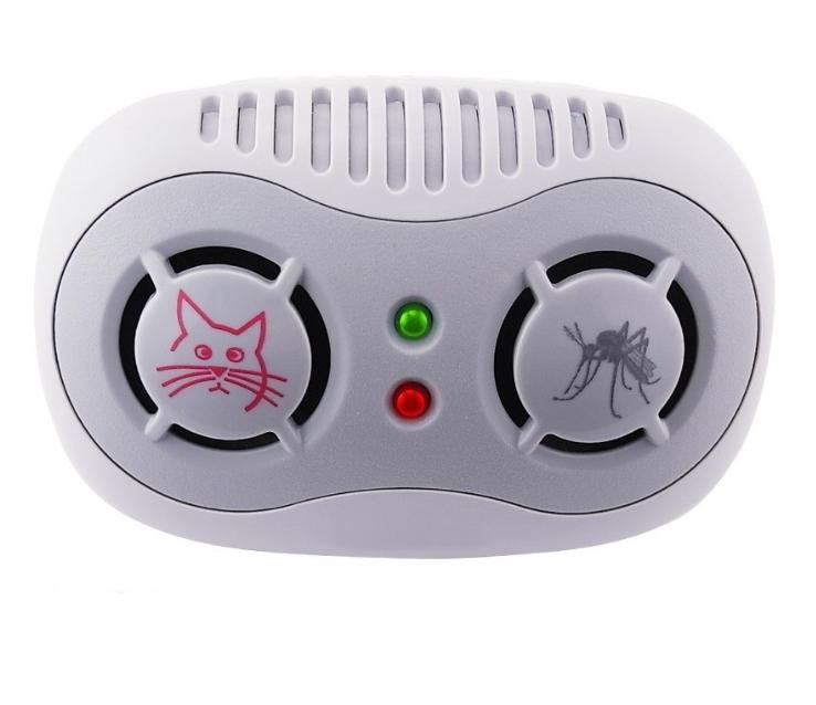 Универсальный ультразвуковой отпугиватель насекомых и грызунов AR166B питание от сети 220V