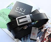 Мужской брючный ремень Calvin Klein black