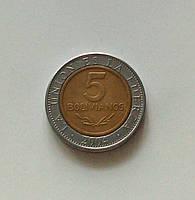 5 боливиано Боливия 2004 г.