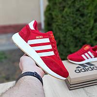 Мужские кроссовки Adidas Iniki (красные) 10118