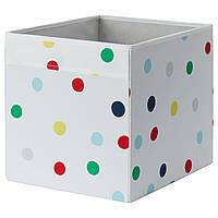 IKEA Коробка, точечный, 33x38x33 см