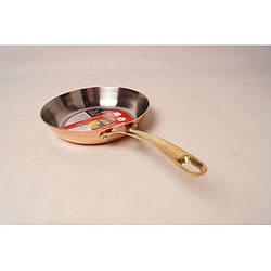 Мідна сковорода для смаження (Герміона) 20 см