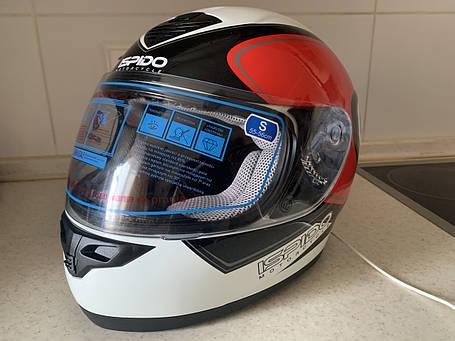 Мото шлем оригинал Европа закрытый Ispido (Польша) сертифицирован, фото 2