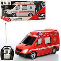 Пожежна машинка/швидка допомога на радіо управлінні,світло.фари,машинка на управлінні