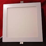 LED-cветильник квадрат Luxel 18w 4000K IP20 (DLS-18N)