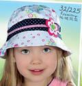 Детская летняя панамка для девочки Сердечки (AJS, Польша), фото 6