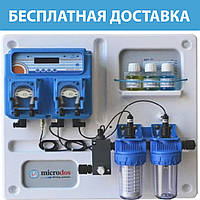 Дозирующая станция Microdos MP Dual (pH 1,5 л/ч — Rx 6 л/ч)