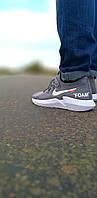 Мужские кроссовки найк Nike Foam серые