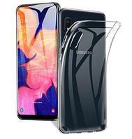 Чехол силиконовый Ультратонкий Epik для Samsung Galaxy a10 Прозрачный (a105 SM-A105FZBGS)