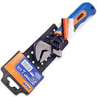 Ключ разводной 200мм (0-24мм) двухкомпонентная рукоятка