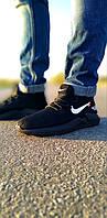 Мужские черные кроссовки найк Nike Foam
