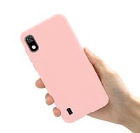Чехол Silicon Case для Samsung Galaxy a10 Розовый (a105 SM-A105FZBGS)