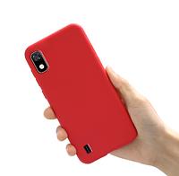 Чехол Silicon Case для Samsung Galaxy a10 Красный (a105 SM-A105FZBGS)