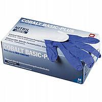 Перчатки нитриловые без пудры Ampri COBALT BASIC-PLUS 200 шт./уп.,СИНИЕ М упаковка 200 шт.