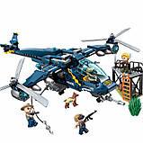 """Конструктор Brick 1922 """"Полицейский вертолет"""" 402 детали, фото 3"""