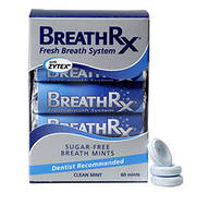Жевательная резинка без сахара BreathRX