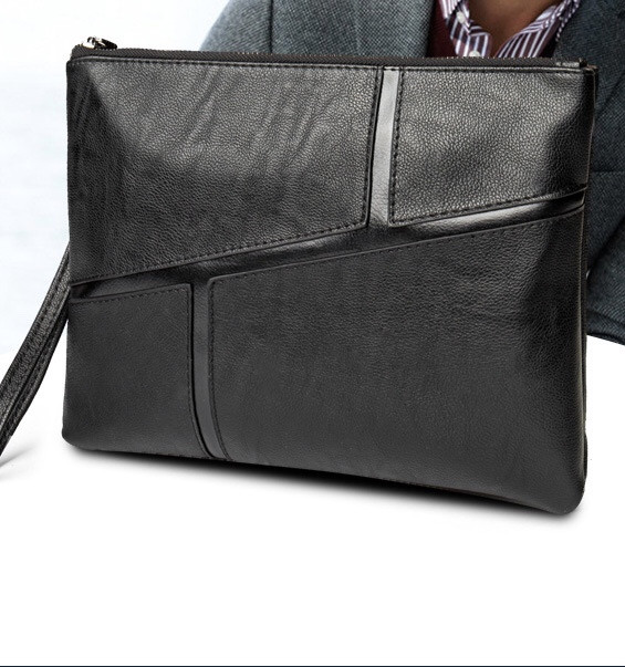 Мужская кожаная сумка. Модель 61319