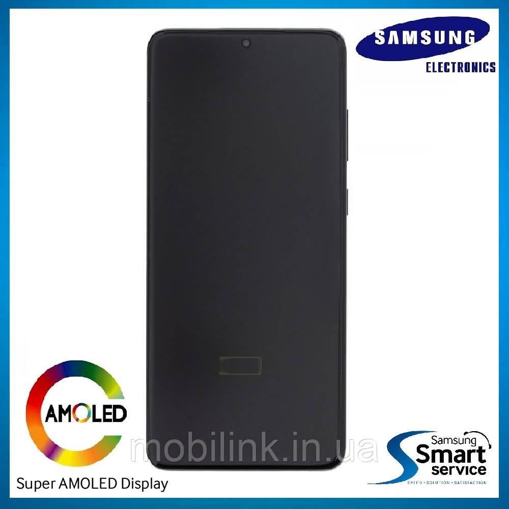 Дисплей Samsung G985 Galaxy S20+ Чёрный Cosmic Black GH82-22134A оригинал!
