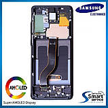 Дисплей Samsung G985 Galaxy S20+ Чёрный Cosmic Black GH82-22134A оригинал!, фото 2