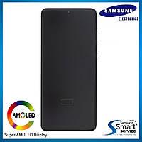 Дисплей Samsung G988 Galaxy S20 Ultra Чёрный Cosmic Black GH82-22271A оригинал!