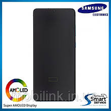 Дисплей Samsung G980 Galaxy S20 Голубой Blue GH82-22123D оригинал!