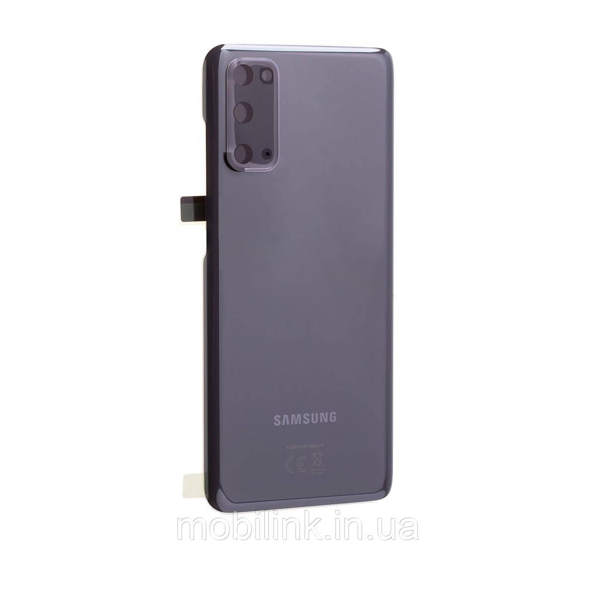 Крышка задняя Samsung SM-G980 Galaxy S20,Серая(Grey), GH82-22520A, оригинал!