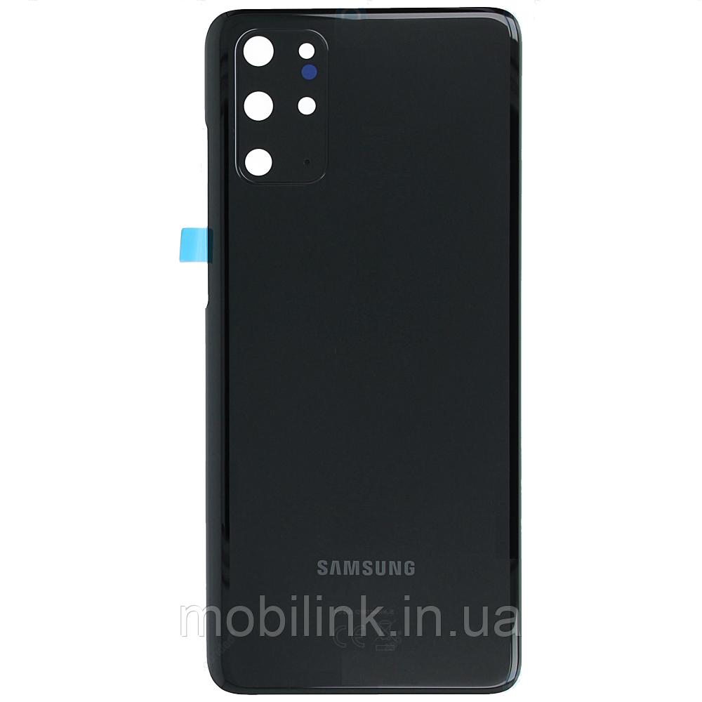 Крышка задняя Samsung SM-G985 Galaxy S20 Plus,Чёрная(Cosmic Black), GH82-22196A, оригинал!