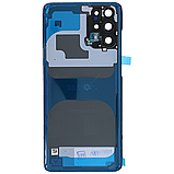 Крышка задняя Samsung SM-G985 Galaxy S20 Plus,Чёрная(Cosmic Black), GH82-22196A, оригинал!, фото 2