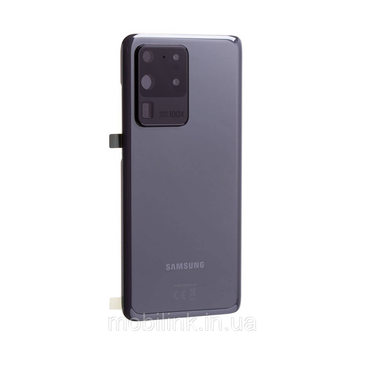 Крышка задняя Samsung SM-G988 Galaxy S20 Ultra,Серая(Cosmic Grey), GH82-22262B, оригинал!