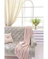 Дитячий в'язаний плед Прованс рожевий 90х130 ПРО012502