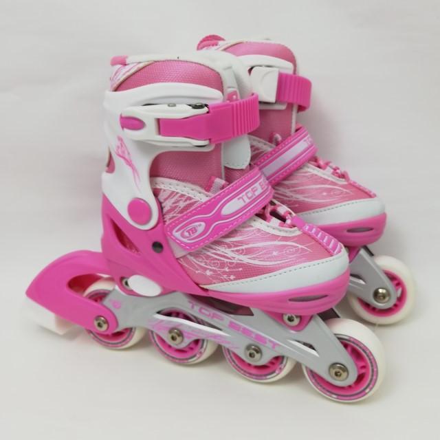 РоликиMarathon 12A10 рожеві