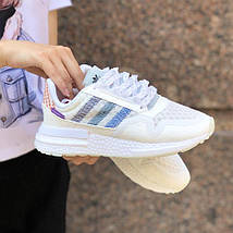 Мужские кроссовки Adidas ZX 500 RM Commonwealth White, адидас зх 500, фото 2