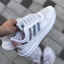 Мужские кроссовки Adidas ZX 500 RM Commonwealth White, адидас зх 500, фото 3