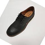 Туфли мужские Bumer k1 черные кожа, фото 5