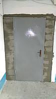 Тамбур 1.4м*2.6м Газобетон + дверь техническая замок Арико