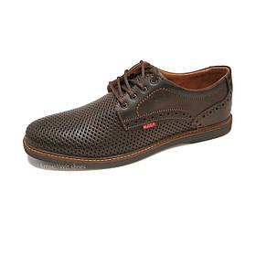 Туфлі чоловічі Bumer k2 чорні шкіра