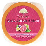 Tree Hut Sugar scrub Сахарный скраб с маслом ши, маракуйя и гуава 510гр, фото 3