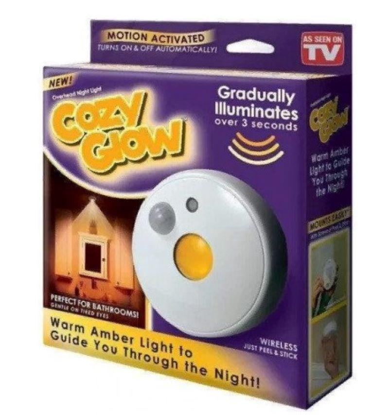 Лампа Cozy Glow з датчиком руху на батарейках. ОРИГІНАЛ!!!
