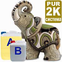 Модельный пластик в Украине Монблан 2к ПУР