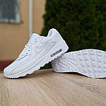 Женские кроссовки Nike Air Max 90 (белые) 20094, фото 3