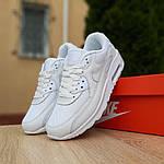 Женские кроссовки Nike Air Max 90 (белые) 20094, фото 5