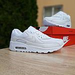 Женские кроссовки Nike Air Max 90 (белые) 20094, фото 7