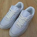 Женские кроссовки Nike Air Max 90 (белые) 20094, фото 8