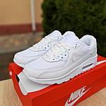 Женские кроссовки Nike Air Max 90 (белые) 20094, фото 9