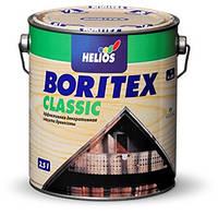 Boritex Classic (Lasur) №5 эбеновое дерево черная 2.5л, Деревозащитное средство с ультрафиолетовым фильтром