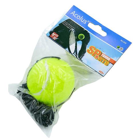 Тренажер для боксу Тенісний м'яч на резинці Fight Ball (1шт) 858 Салатовий