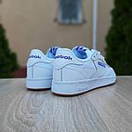 Мужские кроссовки Reebok Workout (белые) 10115, фото 2