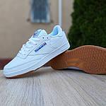 Мужские кроссовки Reebok Workout (белые) 10115, фото 6
